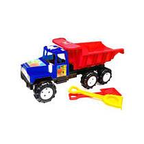 Машина  Фаворит , с лопаткой и граблями (красная) KW-08-806