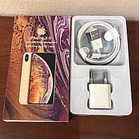 Зарядное устройство для Iphohe X(s) MD814CH/4 (Lightning) Кабель и Зарядный блок(кубик) Зарядка для Айфона