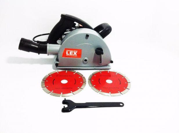 Штроборез LEX AG275(001) 2600 Вт - 150 мм | плавний пуск