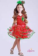 Карнавальный костюм Клюква, Красная смородина для девочки, фото 1