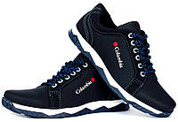 Чоловічі кросівки - туфлі спортивні синього кольору кроссовки