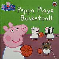 Книга на английском языке Peppa Plays Basketball