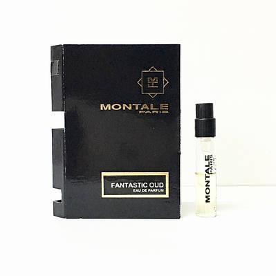 Парфюмированная вода унисекс MONTALE Fantastic Oud 2 мл пробник ОРИГИНАЛ, восточный древесный аромат