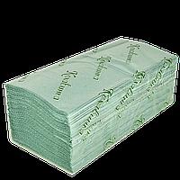 Бумажное полотенце Зеленое 25*23см 160шт 25шт/ящ
