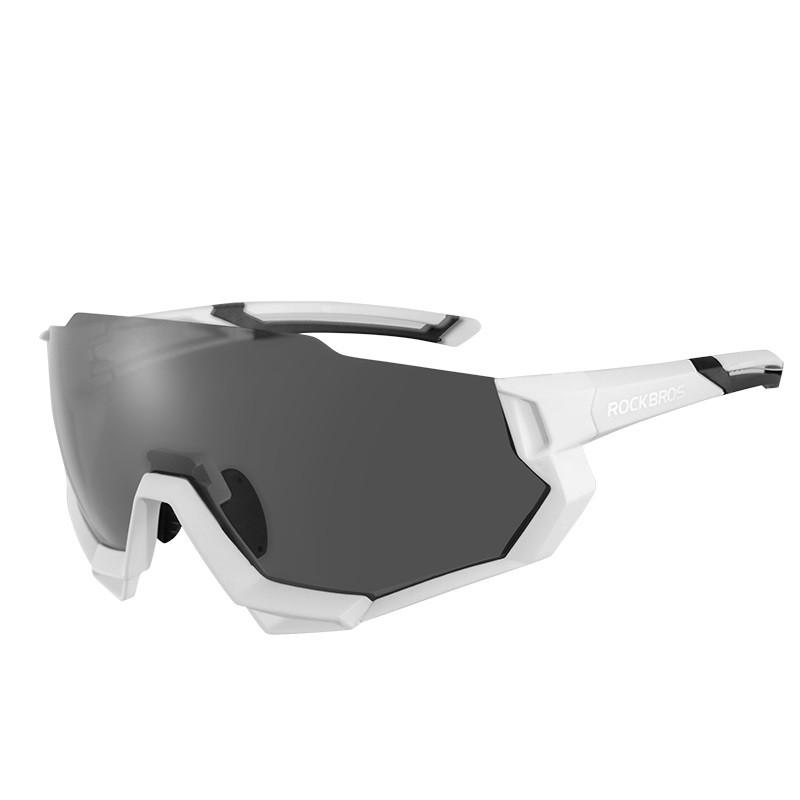Велосипедные очки Rockbros RB-SP176 белые