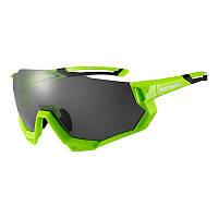 Велосипедные очки Rockbros RB-SP176 зеленые