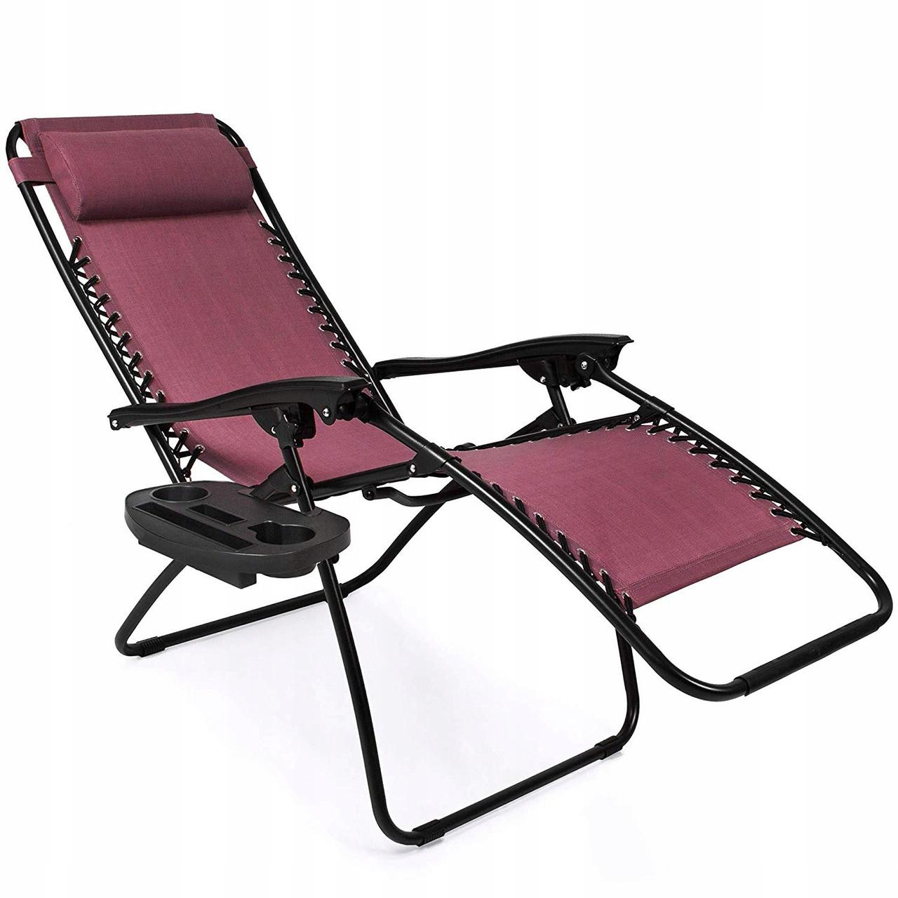 Шезлонг и кресло для отдыха MTM009 бордовый (9038)
