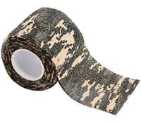 Камуфлированная лента для ружья 5см х 4.5м (болото)