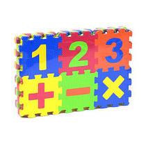 Коврик-пазл  Математика , 36 элементов C36614