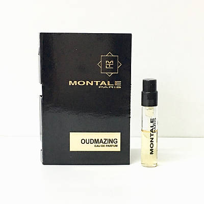 Нішеві французькі парфуми унісекс MONTALE Oudmazing 2мл пробник (Удмазинг) ОРИГІНАЛ парфумована вода