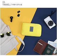 Органайзер для смартфона и гаджетов Travel желтый 01065/01, фото 1