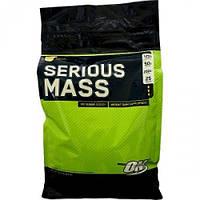 Высококалорийный гейнер ON Serious Mass 5,443 кг - клубника