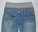 Детские джинсы-джоггеры для девочки на хлопковой подкладке (р.122-152 см) (Quadrifoglio, Польша), фото 4