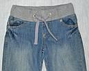 Детские джинсы-джоггеры для девочки на хлопковой подкладке (р.122-152 см) (Quadrifoglio, Польша), фото 2