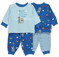 Набір дитячих піжам George на зріст 86-92 см