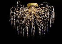 Люстра галогенная со светодиодной подсветкой , пультом 9278-15