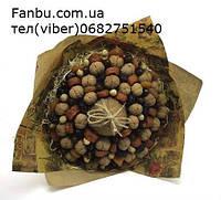 """Ручной орехово-фруктовый букет """"Крепкий орешек"""", фото 1"""