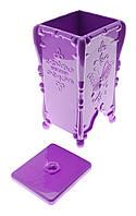 Контейнер-емкость для безворсовых салфеток Butterfly, фиолетовый