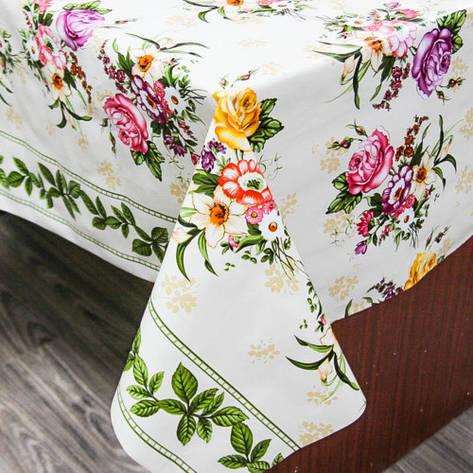 Клеенка на кухонный стол основа ПВХ, фото 2