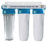 Система 3-х ступенчатой очистки Bio+ systems SL103 1/2'