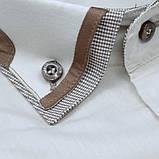 Сорочка чоловіча, прямого крою з довгим рукавом Birindelli 512162 80% бавовна 20% поліестер L(Р), фото 2