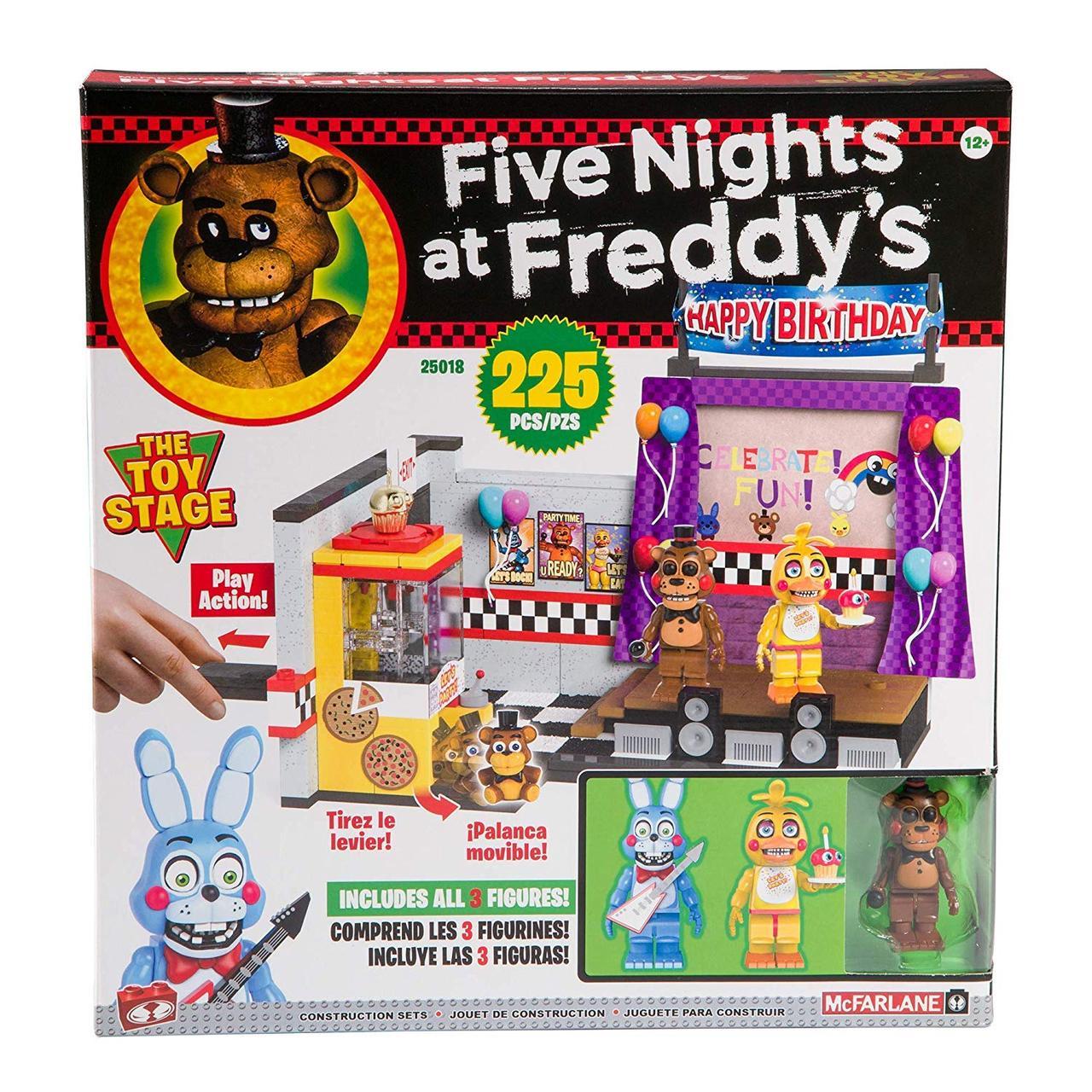 """Конструктор 5 ночей с Фредди McFarlane Toys Five Nights At Freddy's """"Сцена в пицерии"""""""