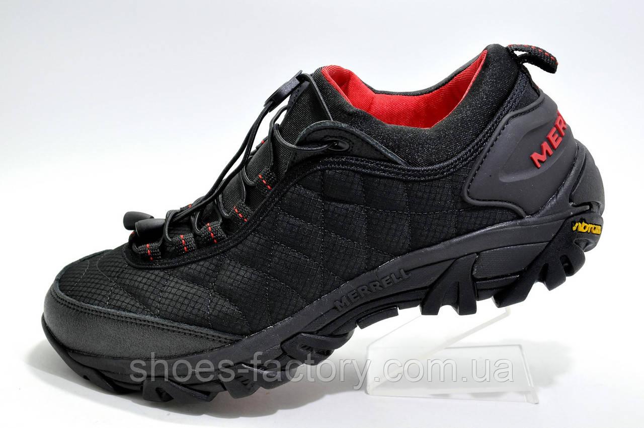 Термо кроссовки в стиле Merrell Ice Cap Moc 2, Red\Black
