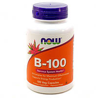 Комплекс витаминов группы B NOW_B-100 веган кап - 100 веган кап