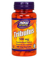 Повышение тестостерона NOW_Tribulus 500 мг 45% - 100 кап