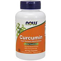 Мощный антиоксидантNOW_Curcumin 450 мг - 60 софт кап