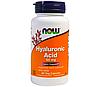 Для кожи и волос NOW_Hyaluronic Acid 100 мг - 60 веган кап