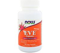 Витамины для женщин  NOW_Eve Women's Multi - 180 софт кап