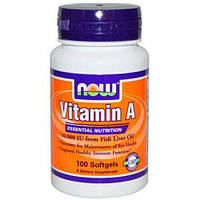 NOW Vitamin A 10,000 IU - 100 софт кап