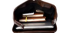Мужская кожаная сумка. Модель 61279, фото 6