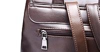 Мужская кожаная сумка. Модель 61279, фото 8
