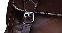 Мужская кожаная сумка. Модель 61279, фото 9