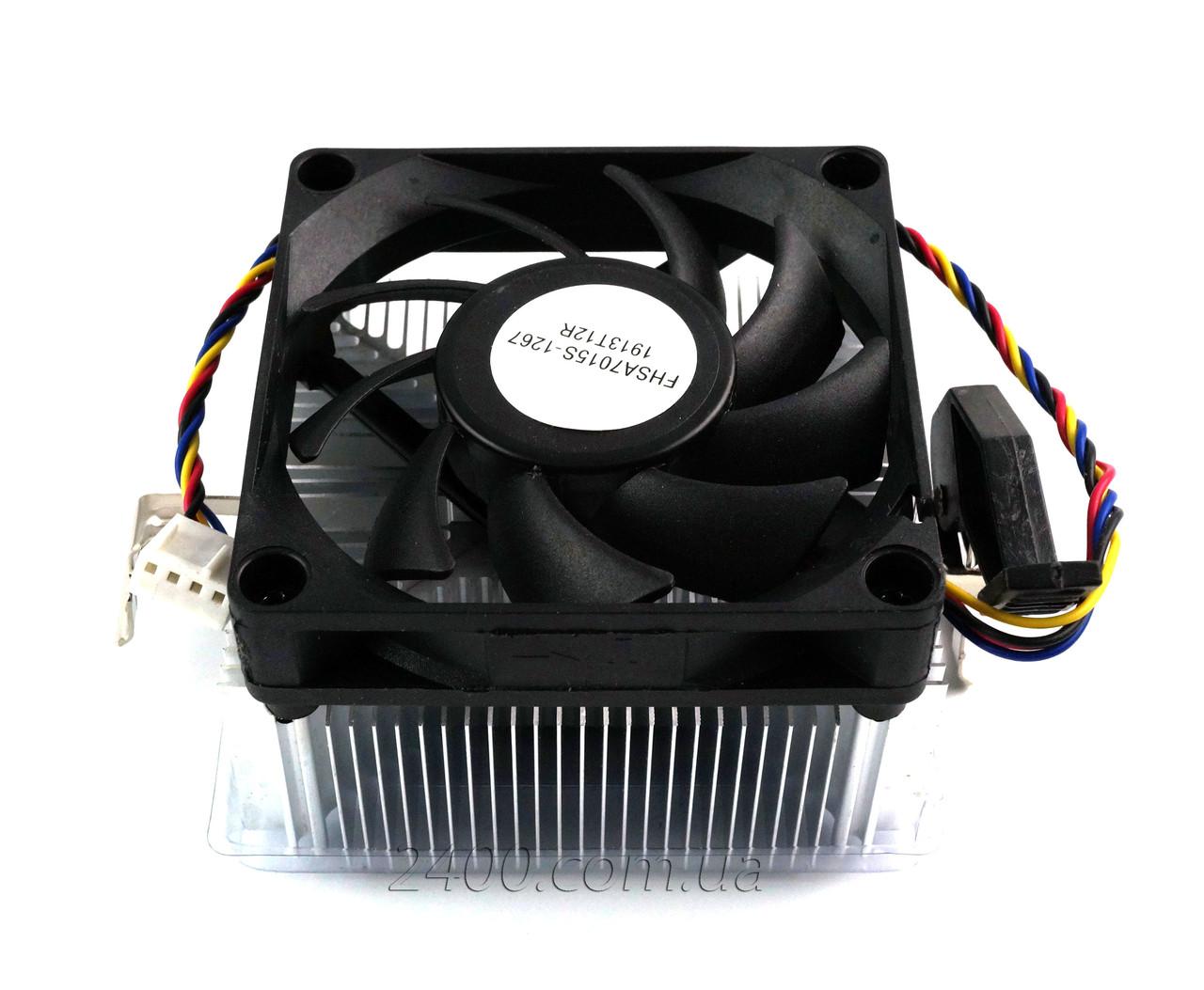 Кулер процессорный AMD, система охлаждения CPU, 4-pin для ПК