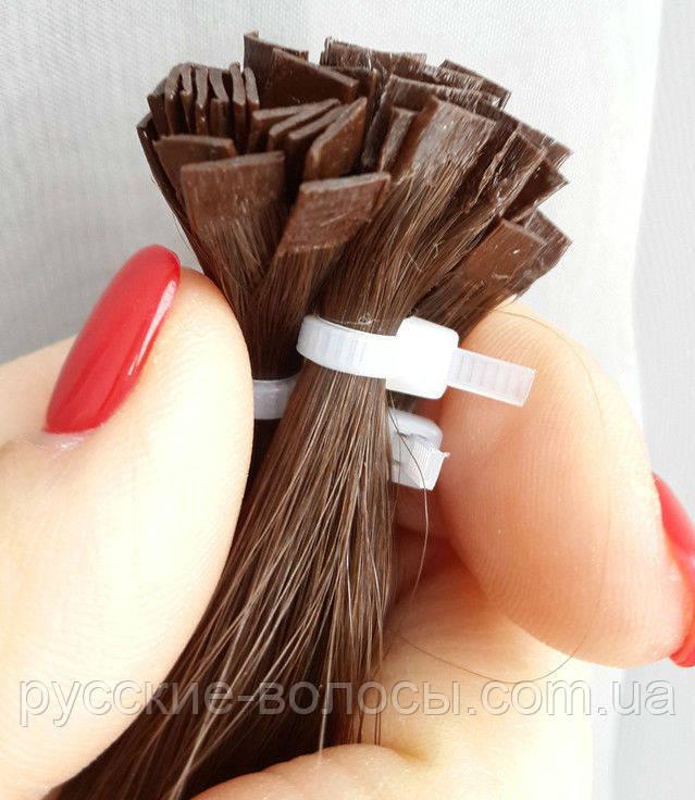 Капсулирование волос для наращивания.
