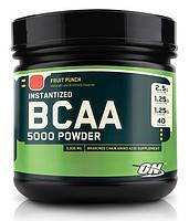 Аминокислоты в порошке ON BCAA powder 380г - fruit punch