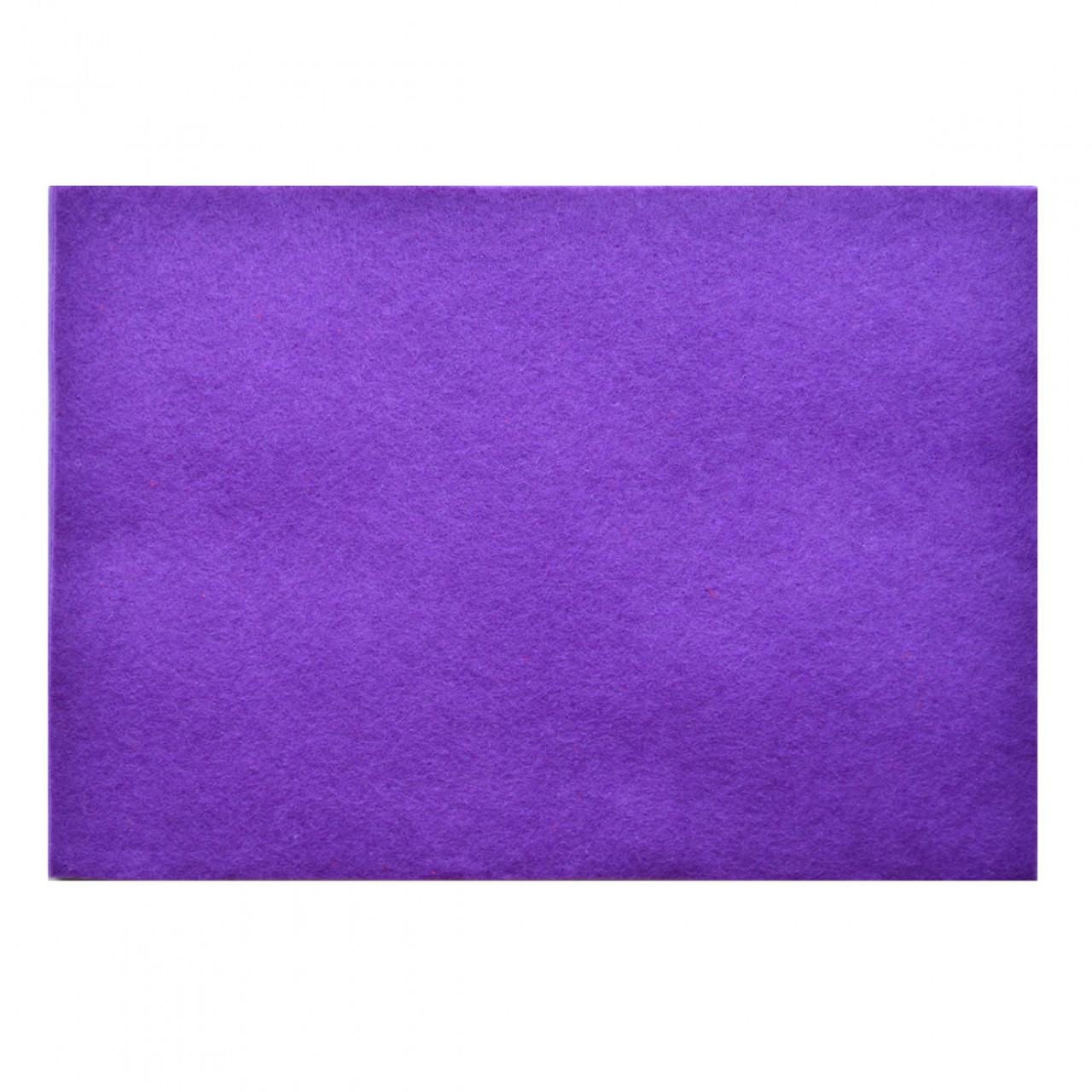 Набор Фетр мягкий, пурпурный, 21*30см, 10листов (Иран)