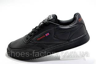 Кроссовки мужские в стиле Reebok Club C 85, Red\Black