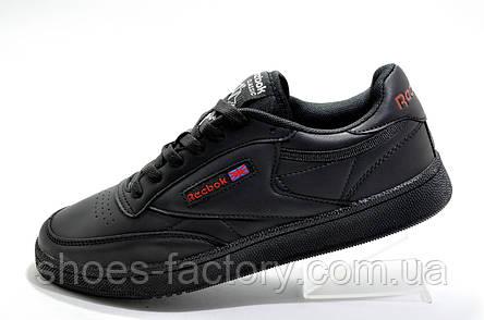 Кроссовки мужские в стиле Reebok Club C 85, Red\Black, фото 2