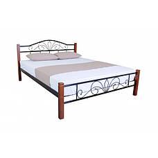 Кровать  Лара Люкс Вуд Двуспальная, фото 2