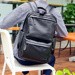 Мужской кожаный рюкзак. Модель 2244