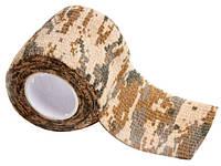 Камуфлированная лента для ружья 5см х 4.5м (пустыня)