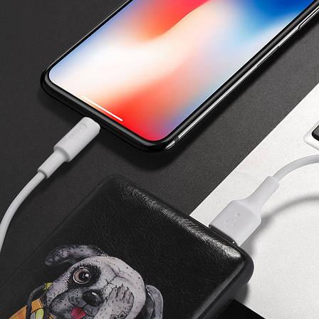 Кабель Hoco X25 USB-Lightning Soarer charger 100cм Белый, фото 2