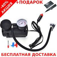 Автомобильный воздушный компрессор Air Compressor 300PSI + нож-визитка