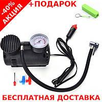 Автомобильный воздушный компрессор Air Compressor 300PSI + powerbank 2600 mAh