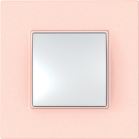 Рамка 1 пост. Unica Quadro Розово-жемчужный MGU4.702.37