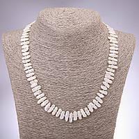 Намисто з натурального барокового перлів